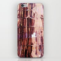 burgundy iPhone & iPod Skins featuring Burgundy by Charlotte Chisnall