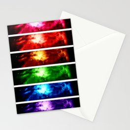 Rainbow Nebula Stationery Cards