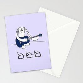 La-la-la Stationery Cards