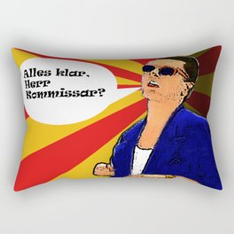 Falco Pop Art-ist Rectangular Pillow
