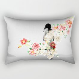 Poppy and Memory III Rectangular Pillow