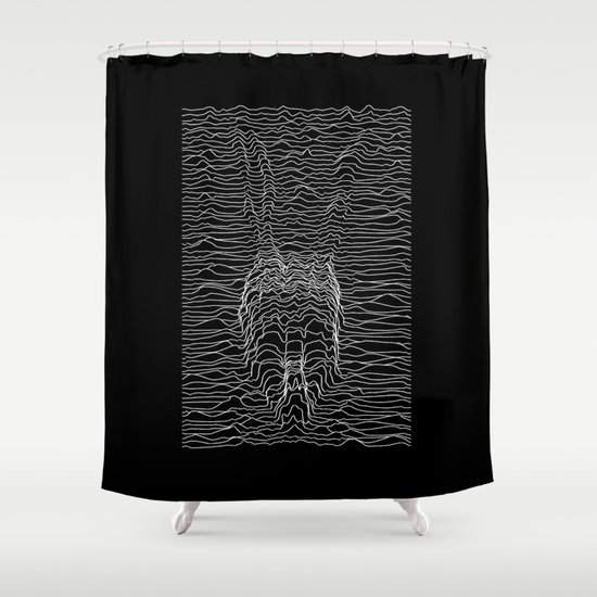 Frank Division Shower Curtain