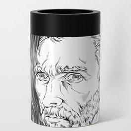 Van Gogh in black Can Cooler