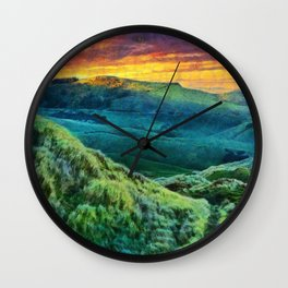 Dunedin, New Zealand Wall Clock