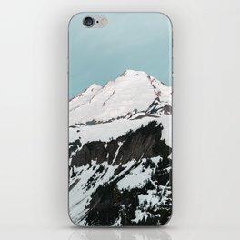 Turquoise Sky Mt. Baker iPhone Skin