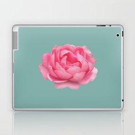 Rose on mint Laptop & iPad Skin