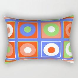Circular Square B2 Rectangular Pillow