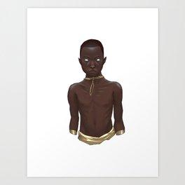 The Tribe Guardian Art Print