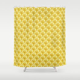 Lemons are watching you! – Strange Fruits Shower Curtain