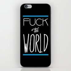 The World iPhone & iPod Skin