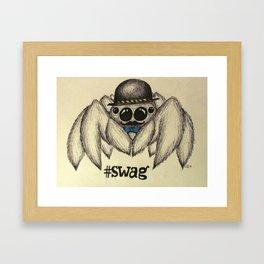 #swag  Framed Art Print
