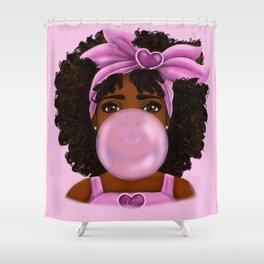 Bubble Gum Shower Curtain