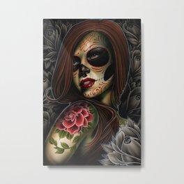 ania dead girl Metal Print