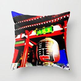 Kaminarimon Throw Pillow
