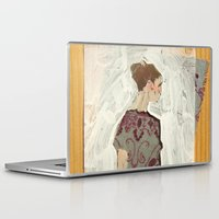study Laptop & iPad Skins featuring Study by Suzanna Schlemm