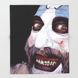 Captain Spaulding Throw Blanket