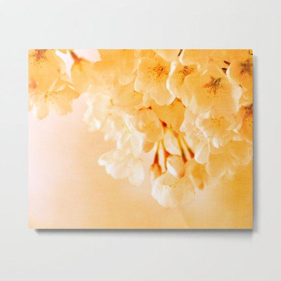 Pastel Blossoms Metal Print