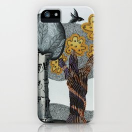 Autumnal Grove iPhone Case