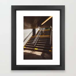Brooklyn Subway II Framed Art Print