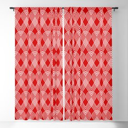 Op Art 186 Blackout Curtain