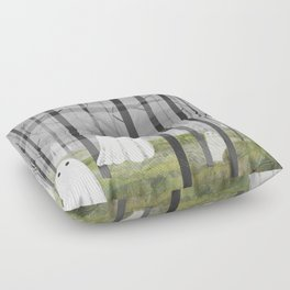 The Woods are full of Ghosts Floor Pillow