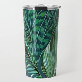 Blue and Green Travel Mug