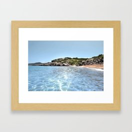 BEACH DAYS 49 Framed Art Print