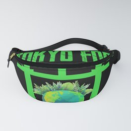 Tokyo for A clean Earth Happy Earth Day Gift Fanny Pack