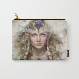 Epic Princess Zelda from Legend of Zelda Painting Carry-All Pouch