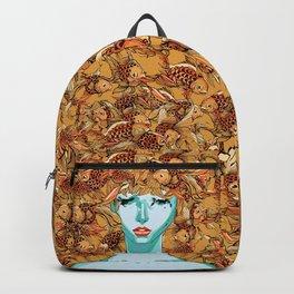 Head up, love Backpack
