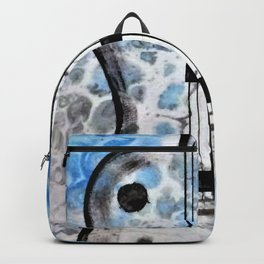 Guitar Art. Abstract Guitar. Rock and Roll. Gibson Guitar. Backpack