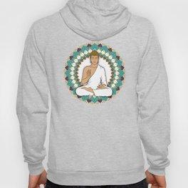 Mandala Abhaya Mudra Buddha Hoody