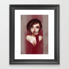 Oh, Velveteen Framed Art Print