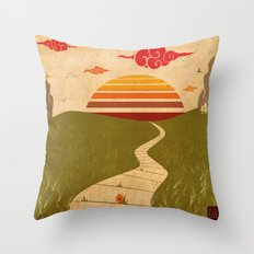 One of Seven Throw Pillow