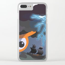 tempest at sight Clear iPhone Case