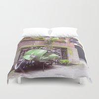 mod Duvet Covers featuring Mod Cons by Ray Cowie