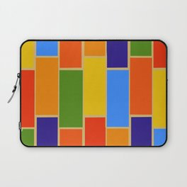Colored Tiles Version 1 Laptop Sleeve