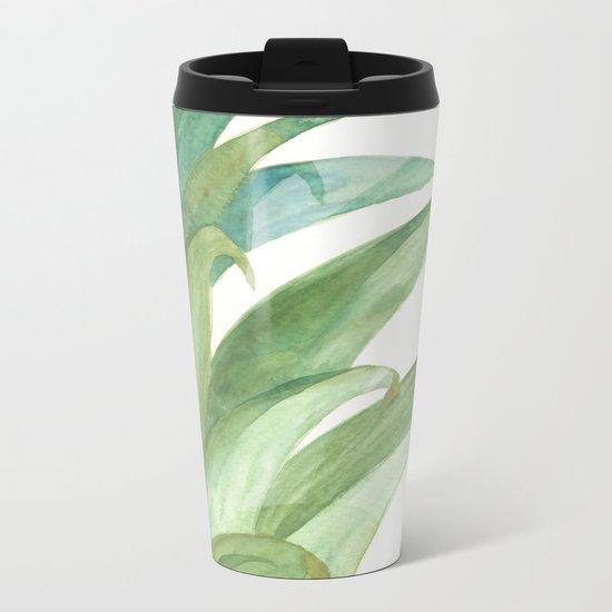 Botanical vibes 03 Metal Travel Mug