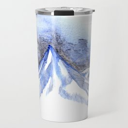 Lonely Blue Mountain Travel Mug