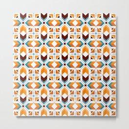 Geometric Art, Aztec Prints, Southwestern, Colourful Prints Metal Print