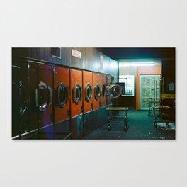 Laundromat Part I Canvas Print