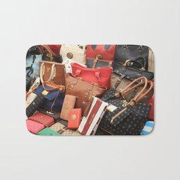 Women's Designer Handbags Bath Mat