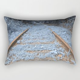 Railway to Blissful Oblivion Rectangular Pillow
