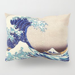 The Great Wave Off Kanagawa Pillow Sham