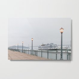 San Francisco Pier Metal Print