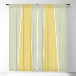 Soft Vintage Color Block Blackout Curtain