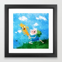 Battle Bros! Framed Art Print
