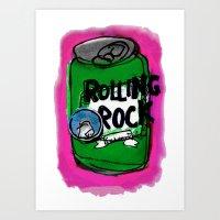 Rock n Rolling Art Print