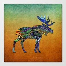 Designer Moose * Canvas Print