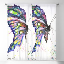 Butterfly Blackout Curtain